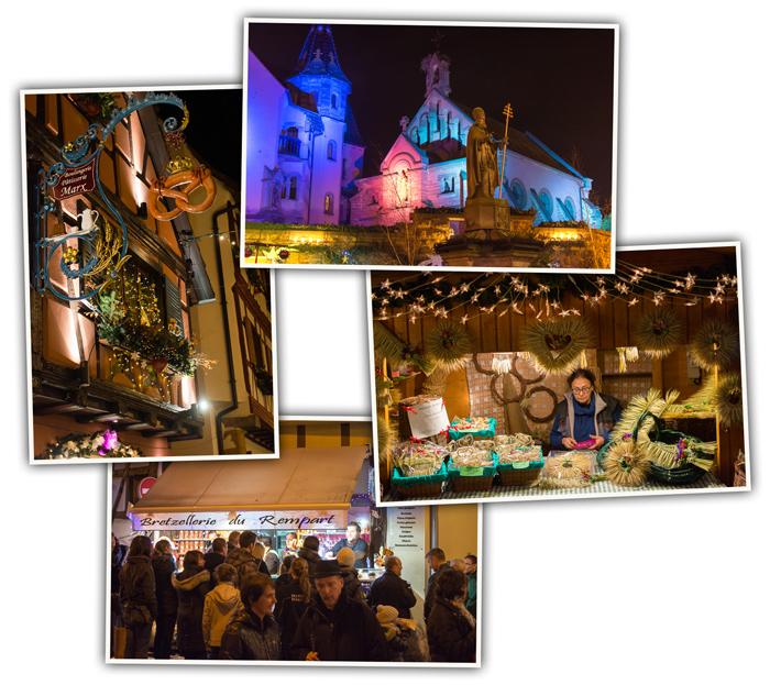 Marché de Noël à Eguisheim
